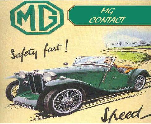 Couverture de MG Contact en 2001