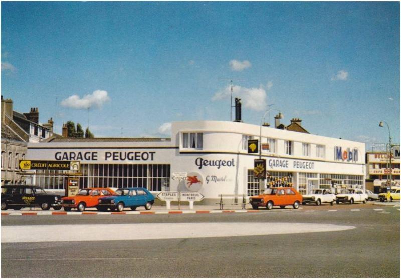 Forum mg afficher le sujet nos anciennes sur cartes postales - Garage peugeot loison sous lens ...