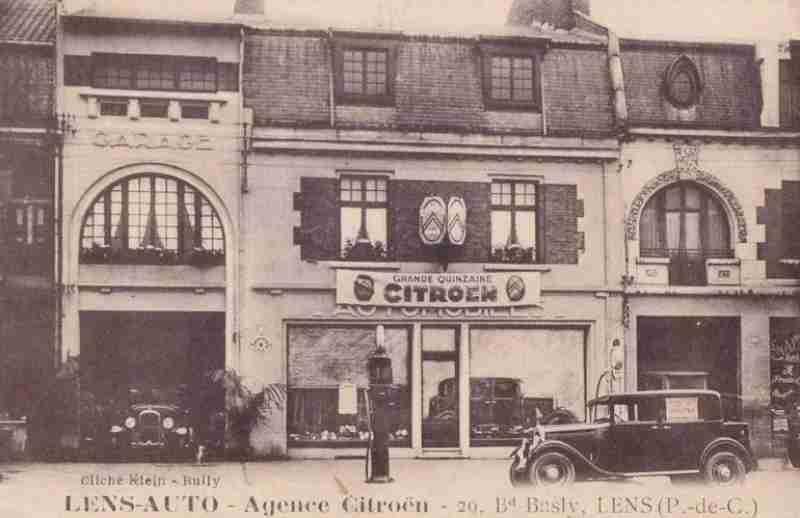 Forum mg afficher le sujet nos anciennes sur cartes postales - Garage citroen lille wazemmes ...
