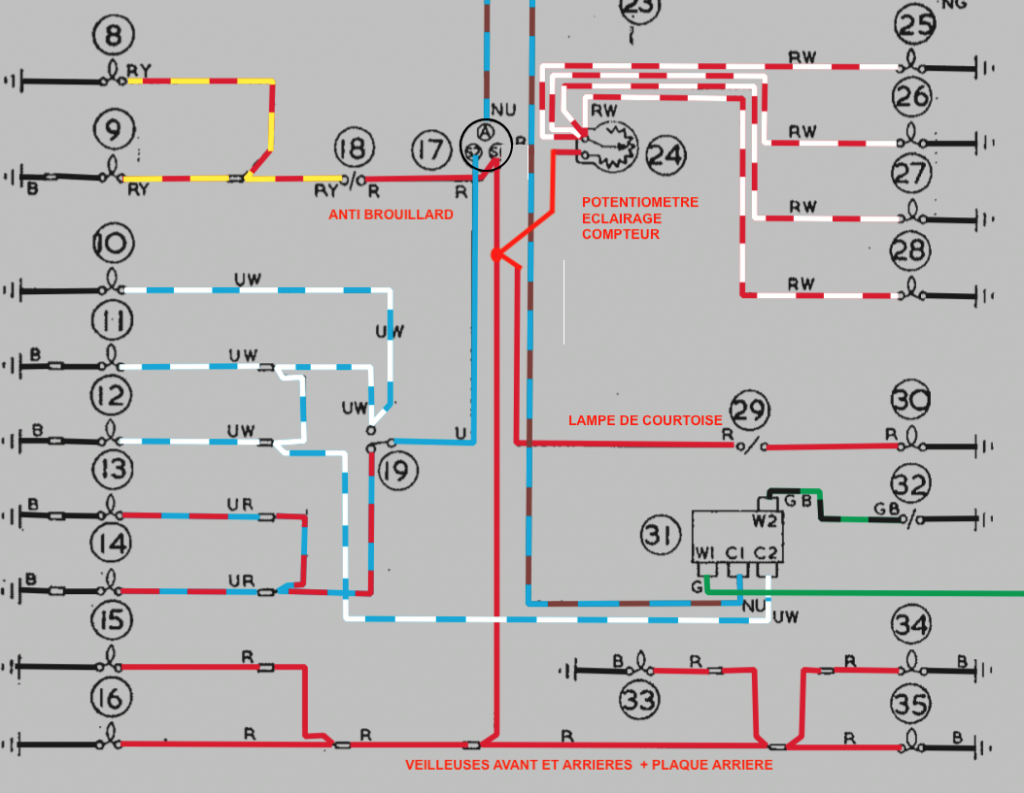 Forum Mg Afficher Le Sujet Mga 1600 Schma Circuit Lectrique Relay Wiring Diagram Image