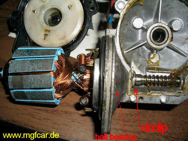 comment reparer un moteur d'essuie glace